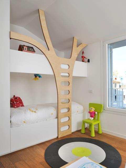 ideia para quarto de criança com beliche