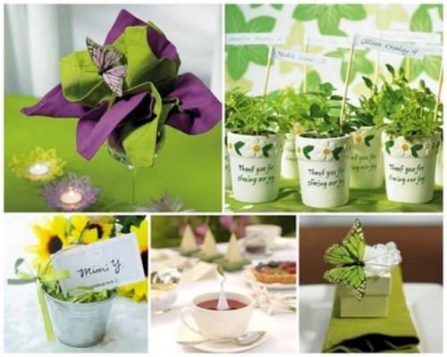ideias para casamento de primavera